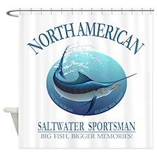 NASM (marlin) Shower Curtain