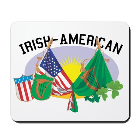 Irish-American Mousepad