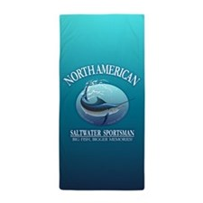 NASM (marlin) Beach Towel