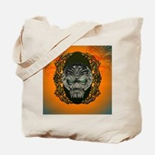 Awesome skull with eyes made of diamond Tote Bag