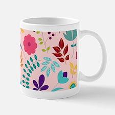 Girly Chic Floral Pattern Mug