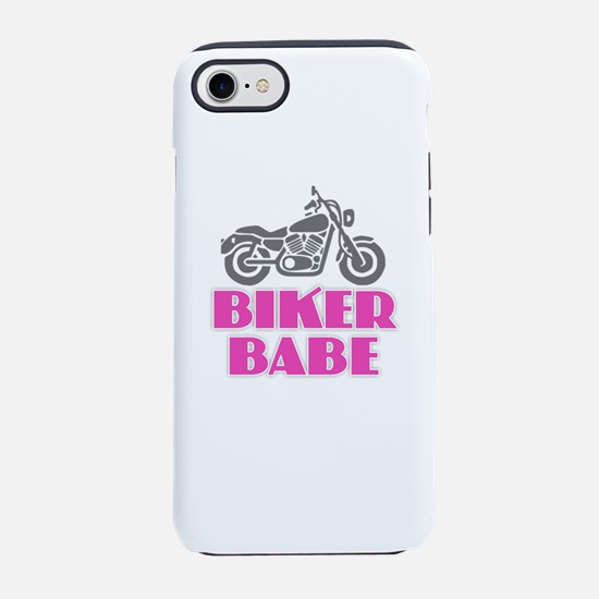 Biker Babe iPhone 7 Tough Case