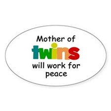 Mom of twins Decal