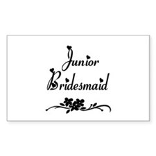 Junior Bridesmaid Rectangle Decal