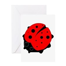 Ladybug on a Greeting Cards