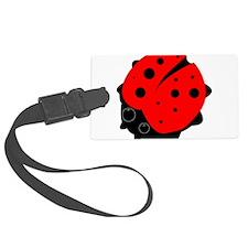 Ladybug on a Luggage Tag