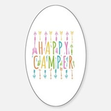 HappyCamp Sticker (Oval)