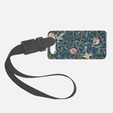Bird and Pomegranate by William Morris Luggage Tag