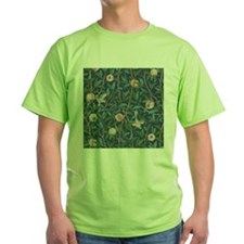 Bird and Pomegranate by William Morris T-Shirt