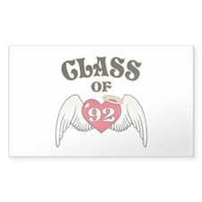Class of '92 Decal