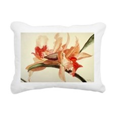 Big Blooms Rectangular Canvas Pillow