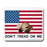 Don\'t tread on me mouse pad Mouse Pads