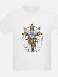 Snowy Owl Mandala T-Shirt