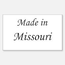 Missouri Rectangle Decal
