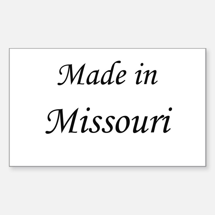 Missouri Rectangle Decal