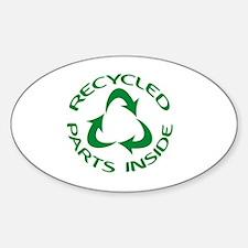 Cute Transplant Sticker (Oval)