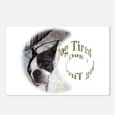 Sleeping Dog- Dog Tired 2 Postcards (Package of 8)