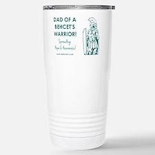 DAD OF A WARRIOR Travel Mug