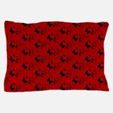 red butterfly Pillow Case