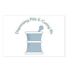 Dispense Pills Postcards (Package of 8)