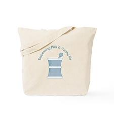 Dispense Pills Tote Bag