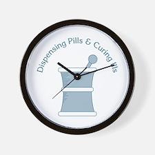 Dispense Pills Wall Clock