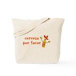 Cerveza Por Favor @Scott Designs Tote Bag