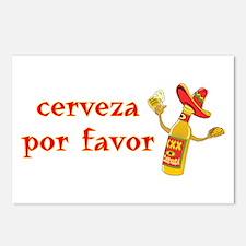 Cerveza Por Favor @Scott Designs Postcards (Packag