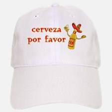 Cerveza Por Favor @Scott Designs Baseball Baseball Cap
