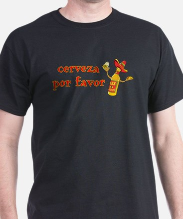 Cerveza Por Favor @Scott Designs T-Shirt