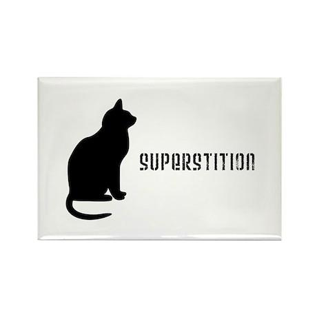 Superstition Rectangle Magnet (100 pack)