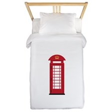 Telephone Booth Twin Duvet