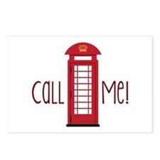 call me Postcards (Package of 8)