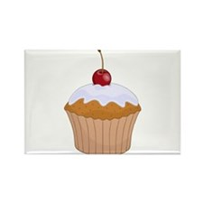 Cute Baby love's cupcakes Rectangle Magnet