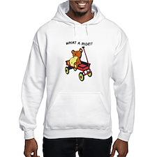 Red Wagon Bear Hoodie
