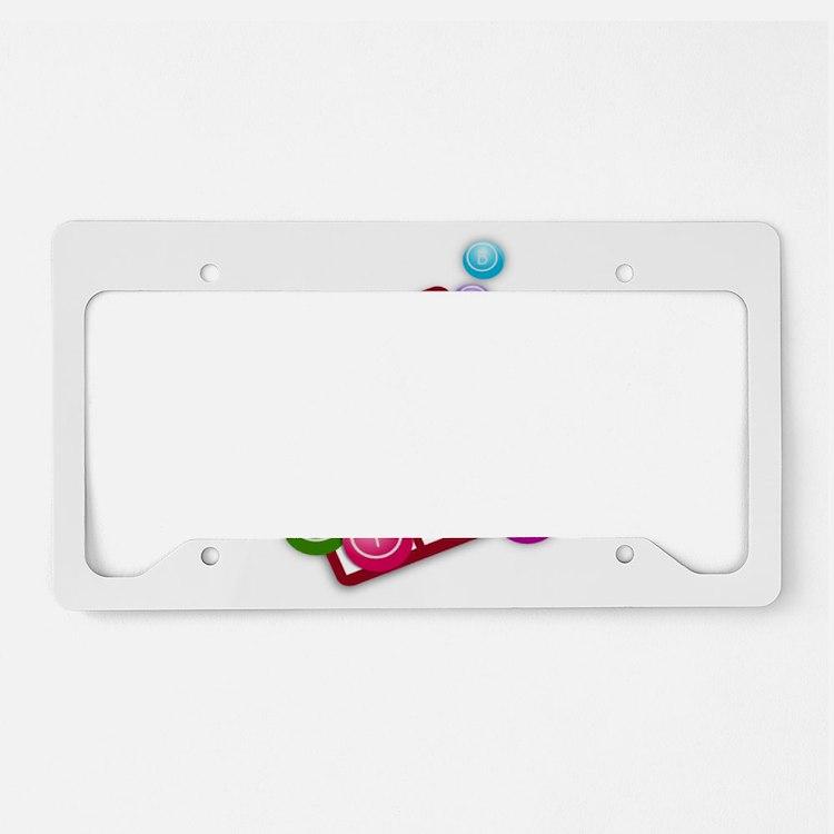 Bingo License Plate Holder