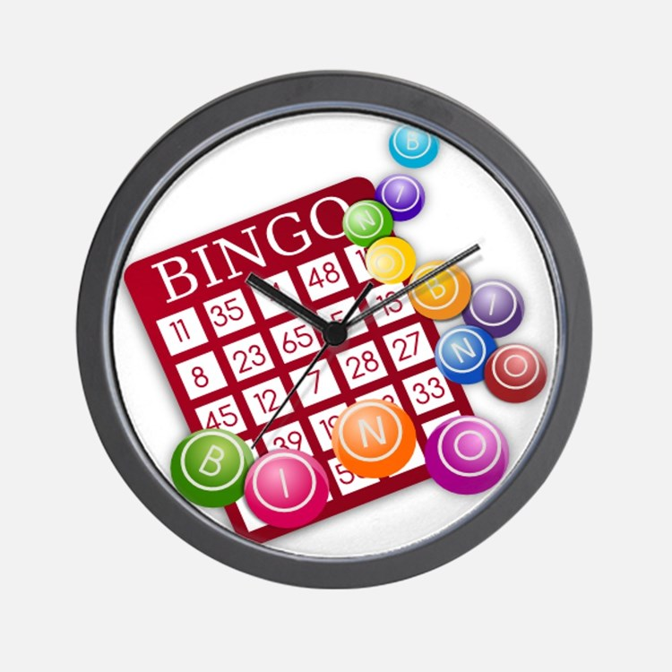 Bingo Wall Clock