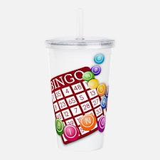 Bingo Acrylic Double-wall Tumbler