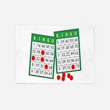 Bingo 5'x7'Area Rug