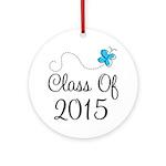 2015 High School Graduation Ornament (Round)
