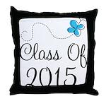 2015 High School Graduation Throw Pillow