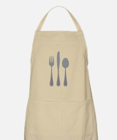 Fork Knife Spoon Apron