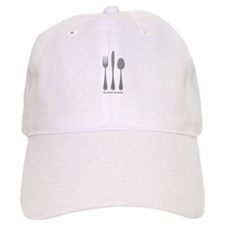 Eat Drink Baseball Baseball Cap