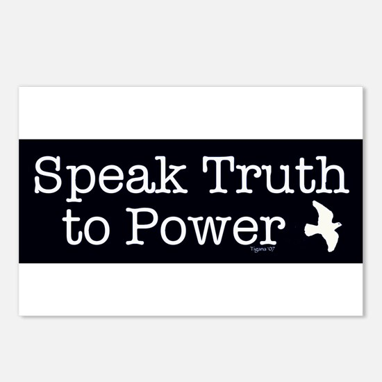 Speak Truth to Power Postcards (Package of 8)