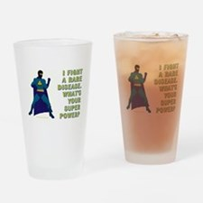 SUPER POWER Drinking Glass