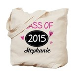 Class of 2015 Cute Gift Tote Bag