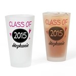 Class of 2015 Cute Gift Drinking Glass