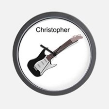 Electric Guitar Wall Clock