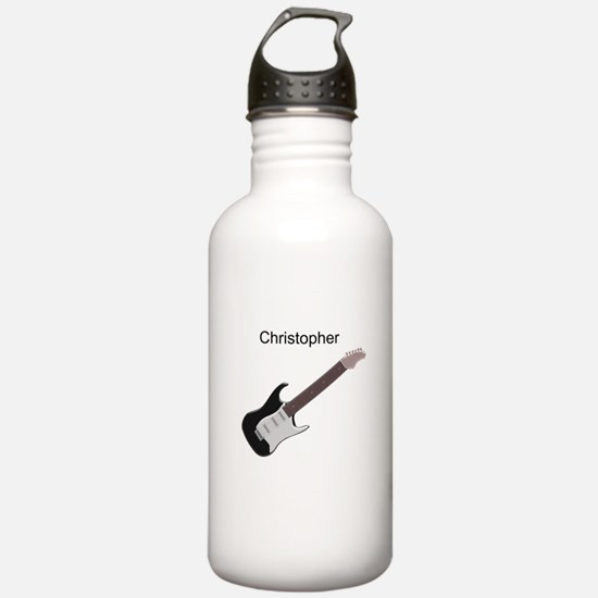 Electric Guitar Sports Water Bottle