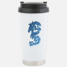 Dragon Blue Travel Mug